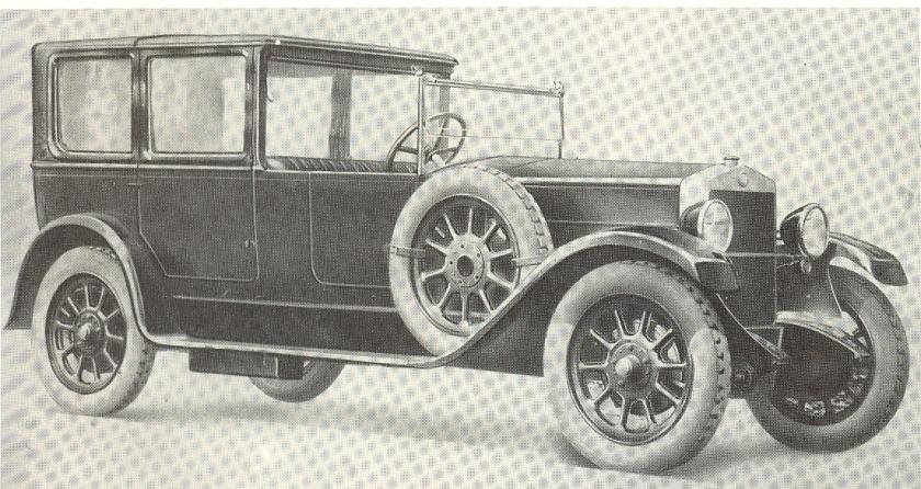 1926 Fiat 512 Landaulet