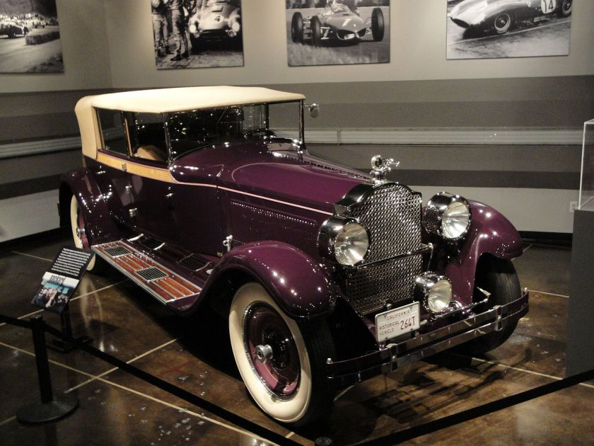 1927 Packard Eight Modell 343 Convertible Sedan von Murphy