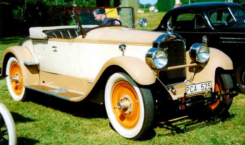 1927 Packard Fourth Series Six Model 426 Runabout (Roadster)