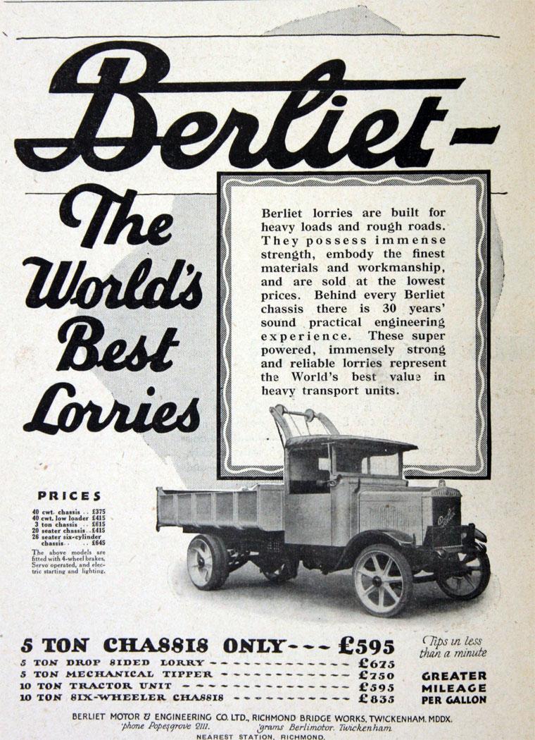 1928 Berliet