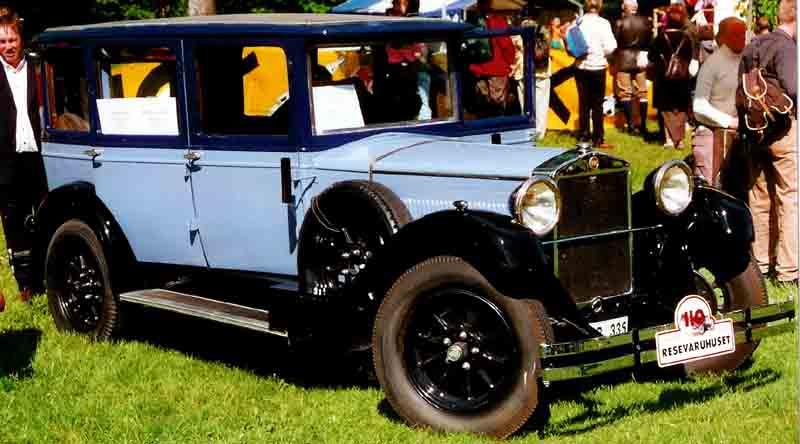 1928 Fiat 520 Berlina