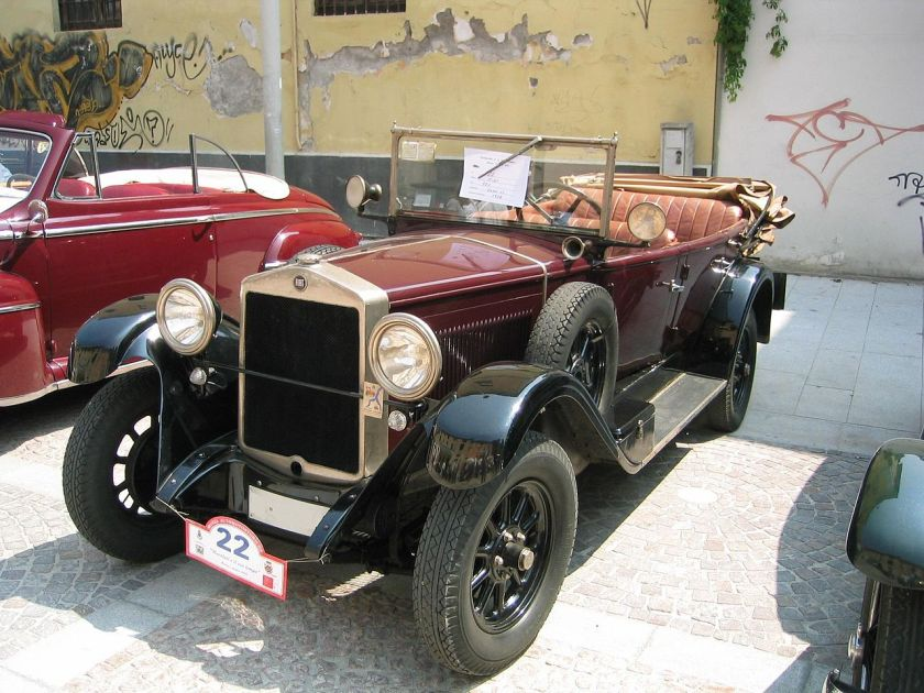 1928 Fiat 520 torpedo