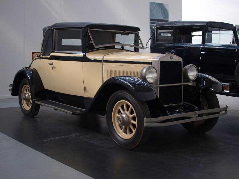 1928 Fiat 520 Virginia Agnelli 1928 L'Evoluzione dell'automobile