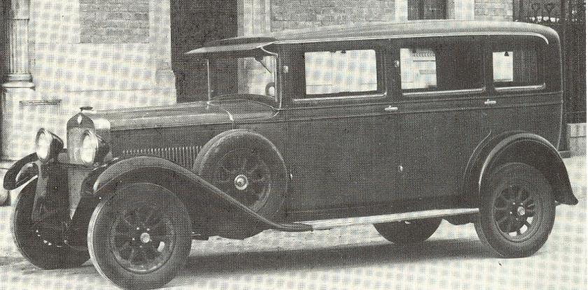 1928 Fiat 521 Weymann-Sedan