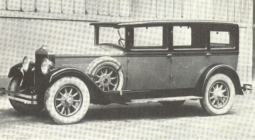 1928 Fiat 525 Sedan