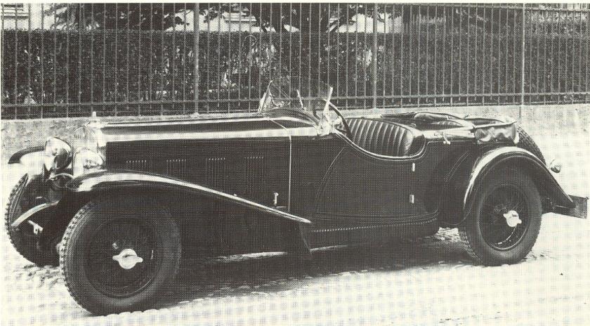 1928 Fiat 525 SS