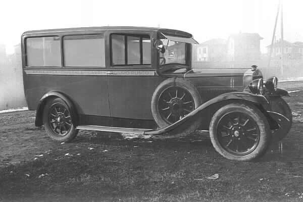 1929 Fiat 503 ambulanza Carrozzeria Barbi spa