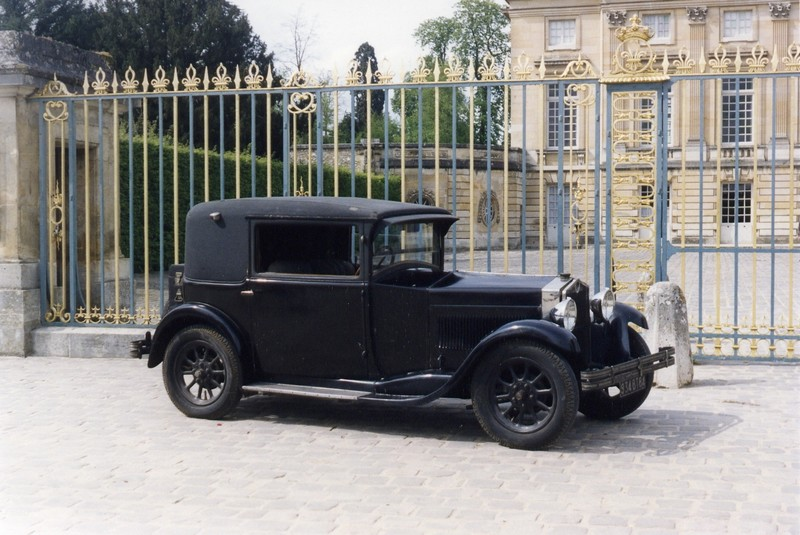1929 Fiat 509 Coupé Royal Pourtout