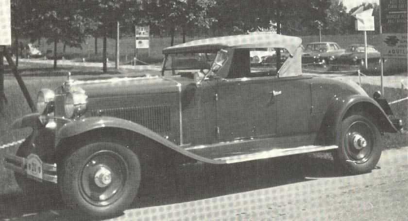 1929 Fiat 525 N Spider
