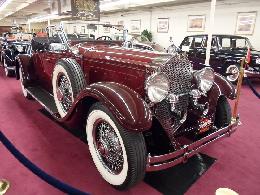1929 Packard 640 Custom Eight (7410688536)