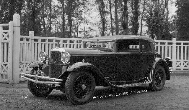 1929 Panhard 28CV Cab Spyder