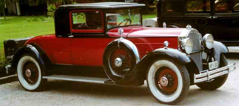 1930 Packard Standard Eight 733 Coupé