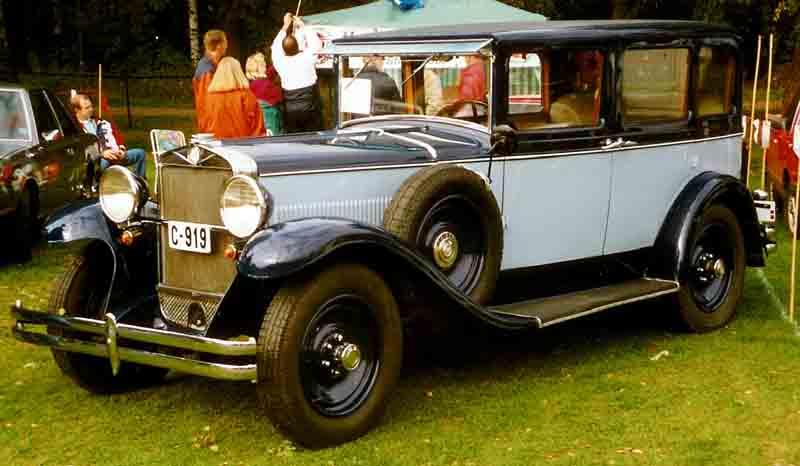 1931-1931 Fiat 525 Berlina