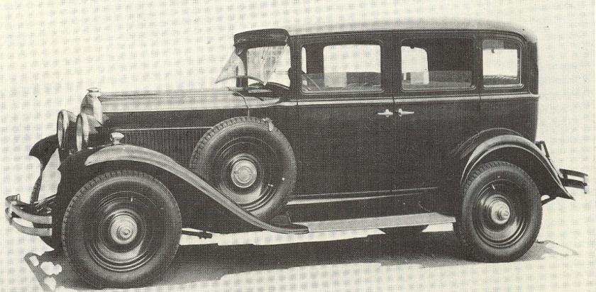 1931 Fiat 522 C Sedan