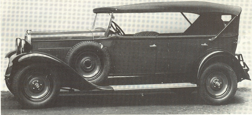 1931 Fiat 522 L Torpedo