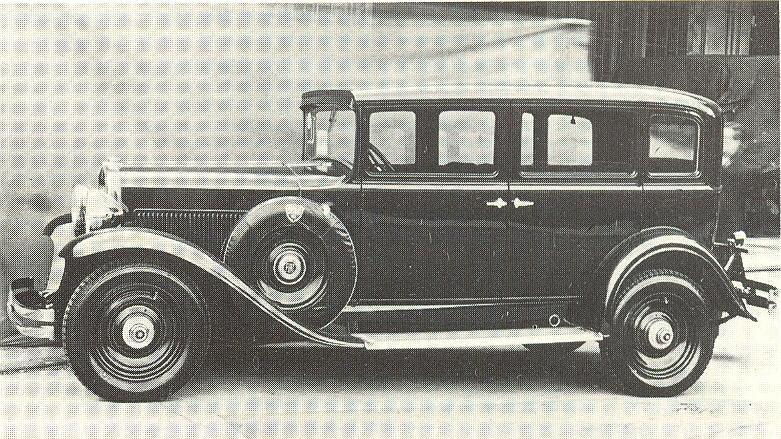 1931 Fiat 524 C Series1 Sedan