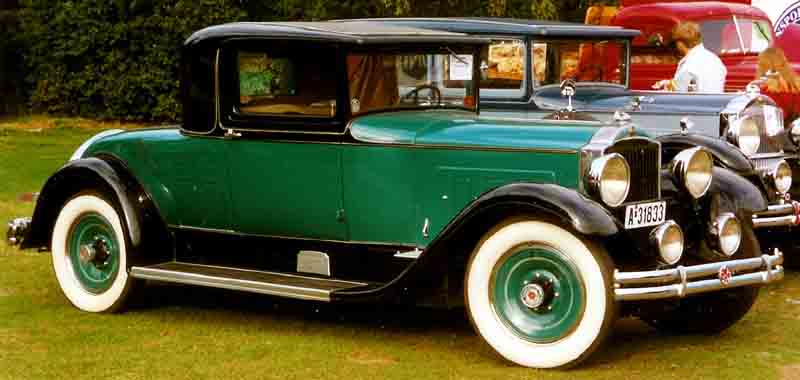 1931 Packard Standard Eight 833 2-4 passenger Coupe