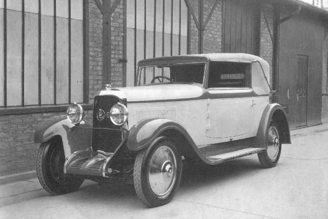 1931 Panhard 6CS de Graaff NL