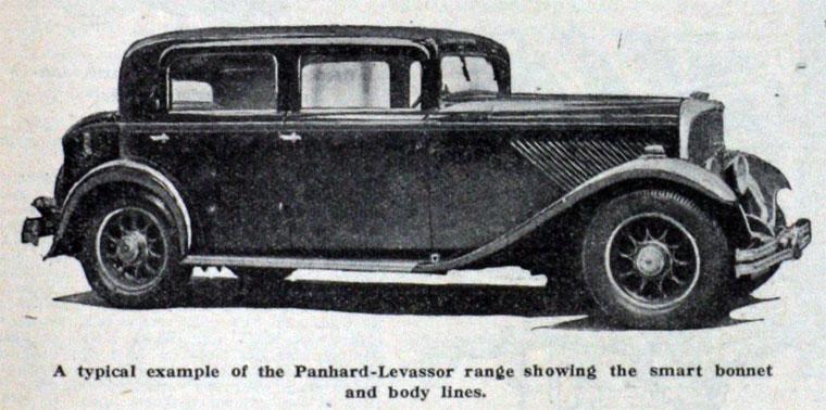 1931 Panhard-Levassor