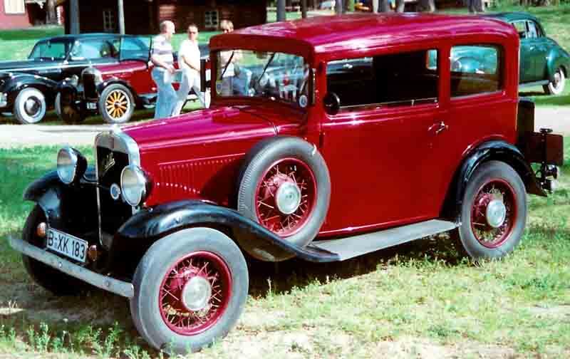 1932-1934 Fiat 508 Balilla
