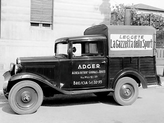 1932-34 Fiat 508 Balilla Cammioncino