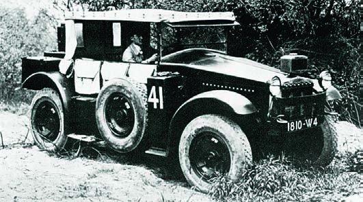 1932 Berliet VURB-2, 4x4