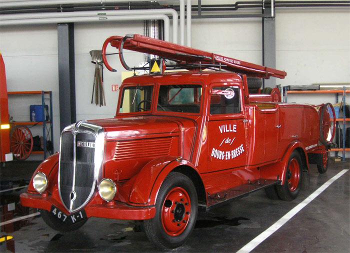 1933 Berliet VDA 80 HP équipé par Ginard Bourg-en-Bresse