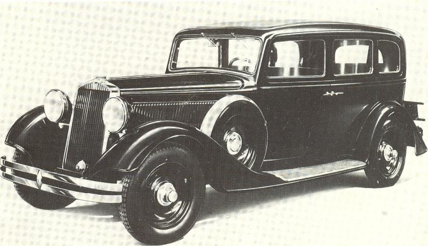 1933 Fiat 524 L Series2 Sedan