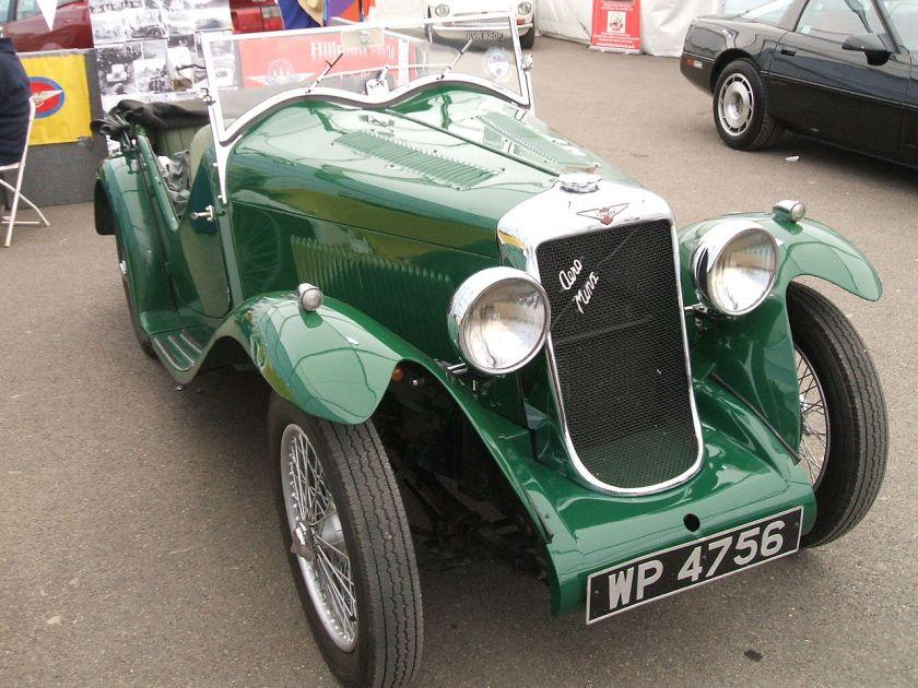 1933 Hillman_Aero_Minx_1933_(9218266477)