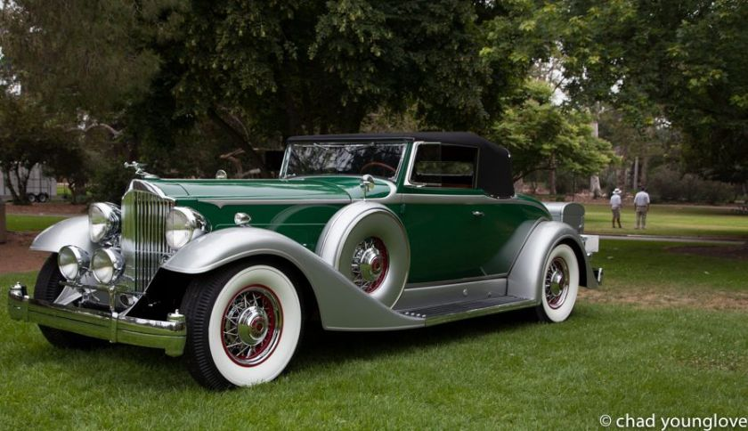 1933 Packard Series 1105 Convertible Coupe