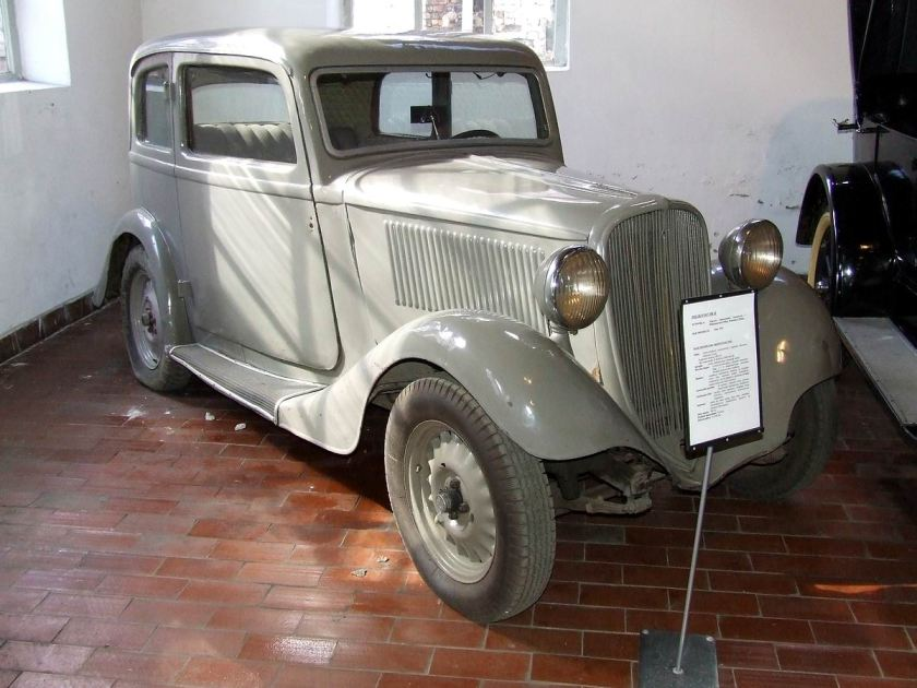 1934-1937 Fiat 508 Ballila II