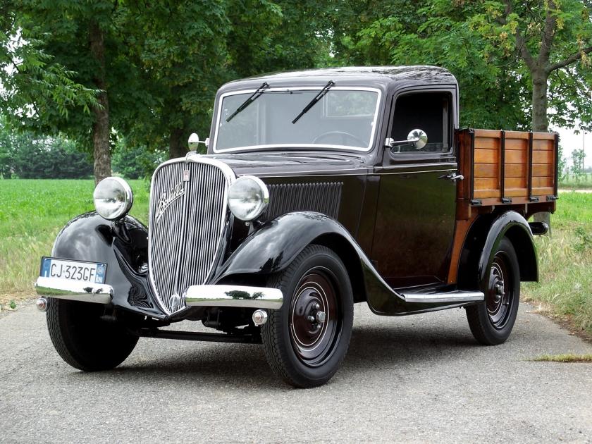 1934-37 Fiat 508 A Balilla Cammioncino