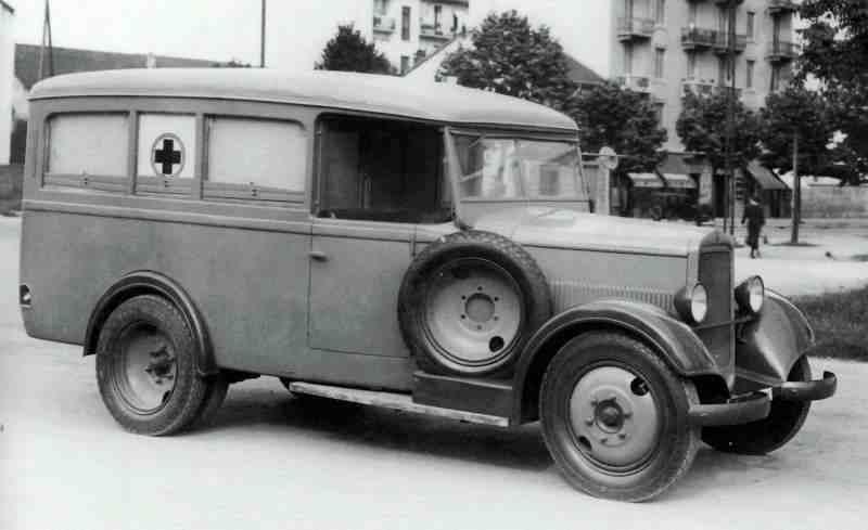 1934-37 Fiat 618c ambulanza