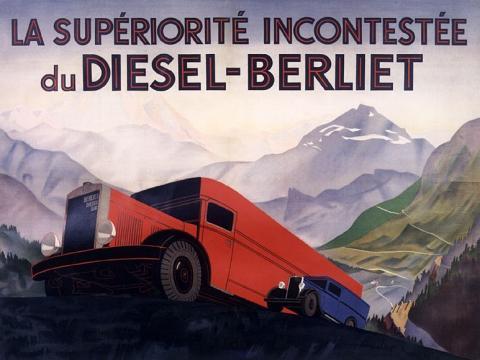 1934 Berliet-Diesel type VDA