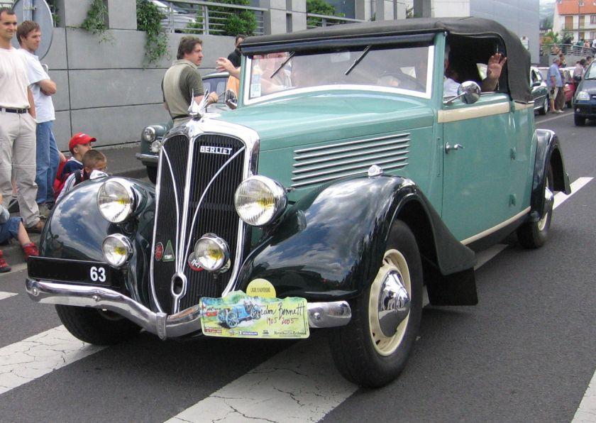 1934 Cabriolet Berliet Dauphine