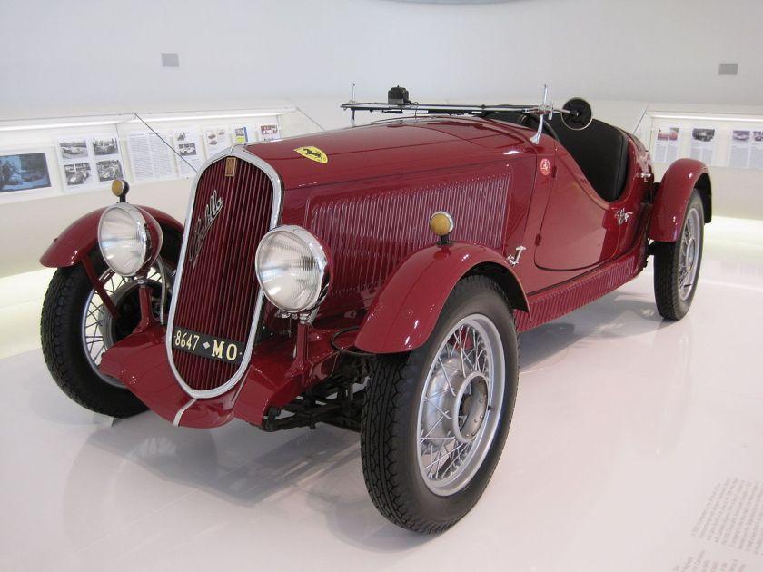 1934 Fiat 508 Ballila Sport
