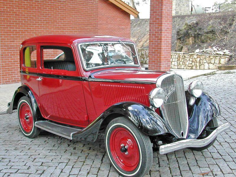 1934 Fiat 508 - z
