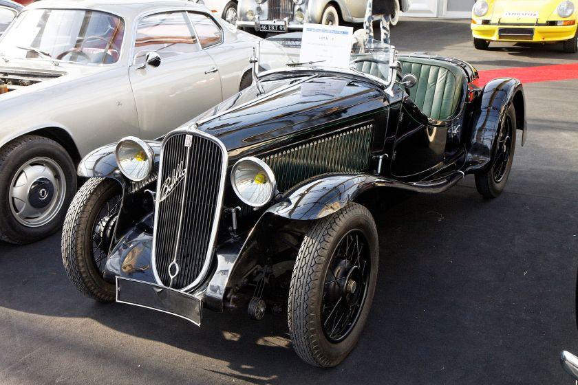 1934 Fiat 508S Ballila Sport 'Coppa d'Oro