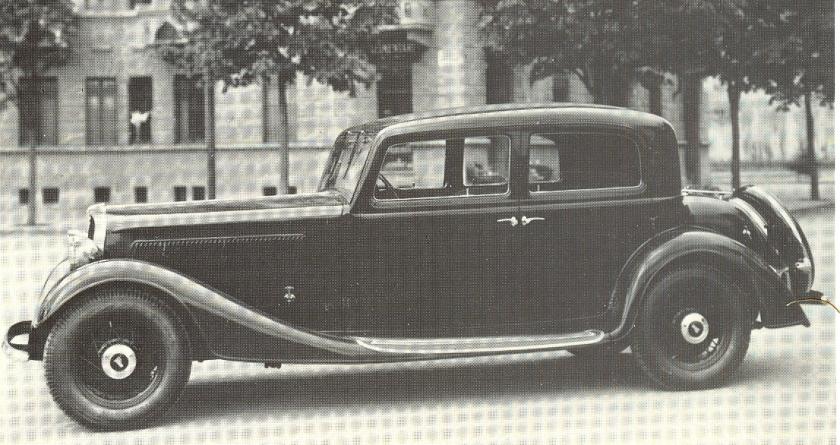 1934 Fiat 527 S