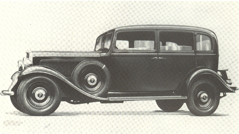1934 Fiat 527 Sedan