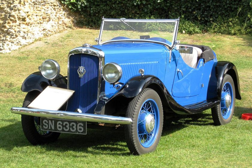 1934 Hillman_Minx_sports_tourer_manufactured_1934_1185_cc