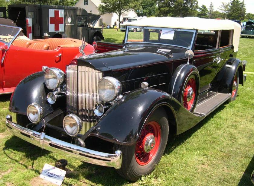 1934 Packard Super Eight 1104 Roadster Convertible