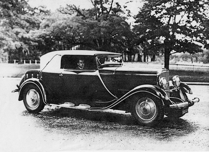 1934 Panhard et Levassor Cabrio-Coupé Pourtout