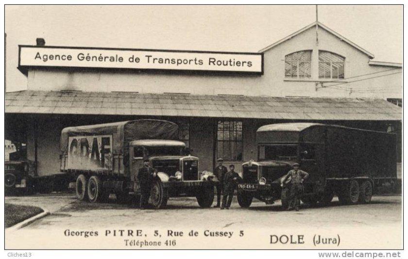 1935 Berliet et un Willème en 6 roues des années 35