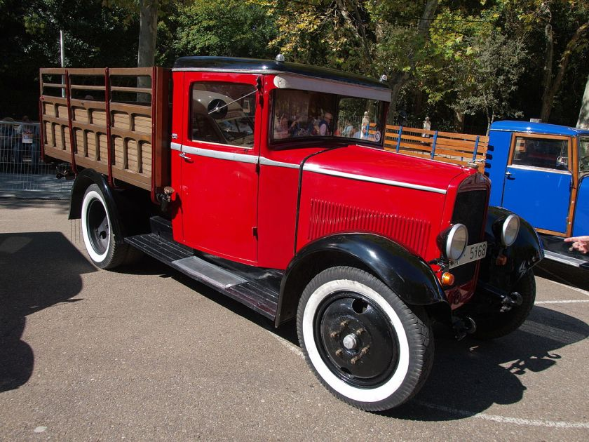 1935 Fiat 618 Colonial truck a