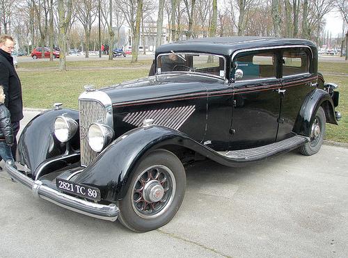 1935 Panhard Sans Soupape 6 cyl