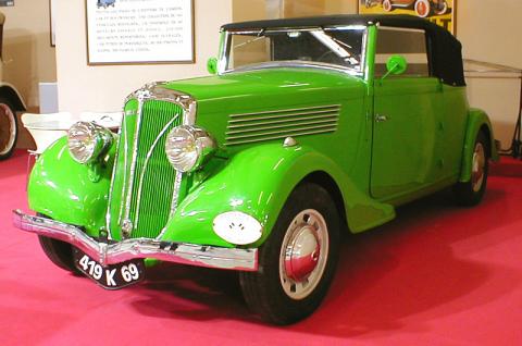 1936 Berliet 11CV Dauphine