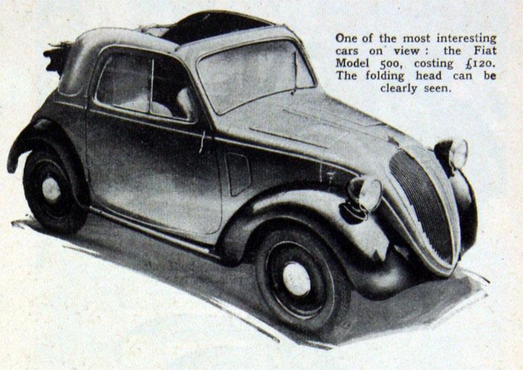 1936 Fiat October 500