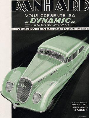 1936 Panhard Dynamic advert