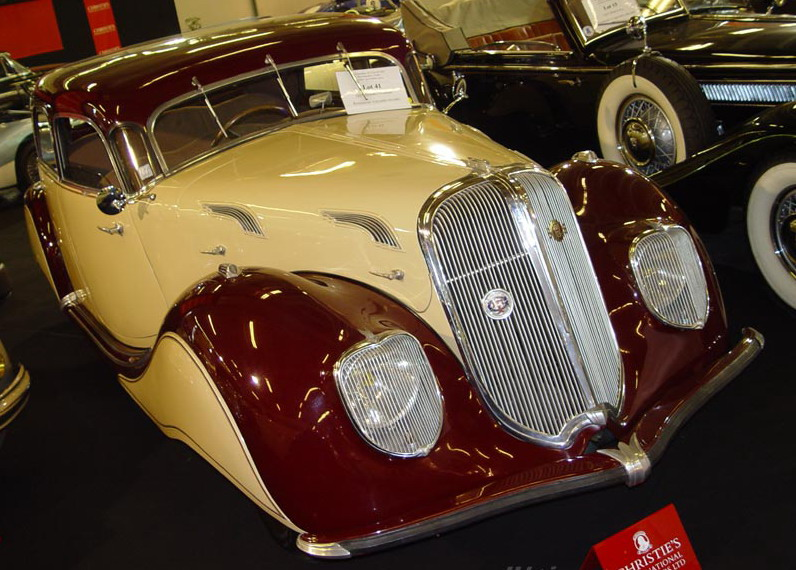 1936 Panhard Dynamic Four Door Saloon